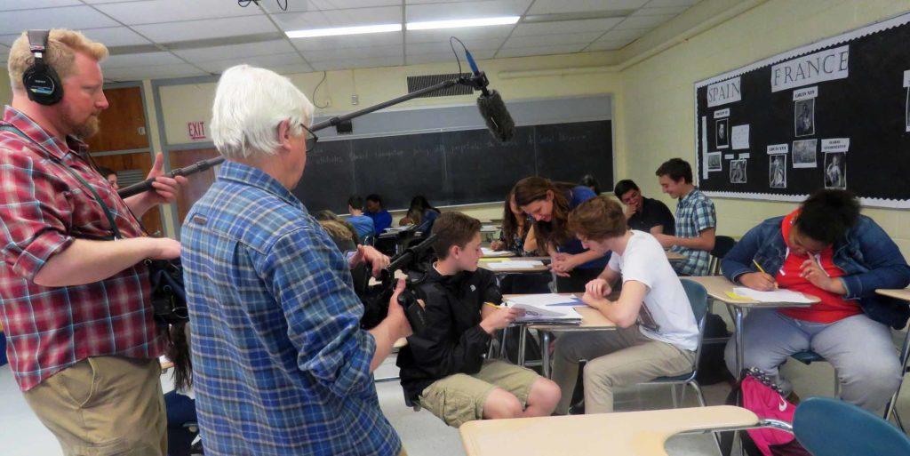 Italian Heritage Curriculum Filming