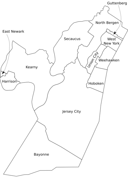 North Jersey Italian Organizations NJ Italian Heritage Commission - Map of bergen county nj