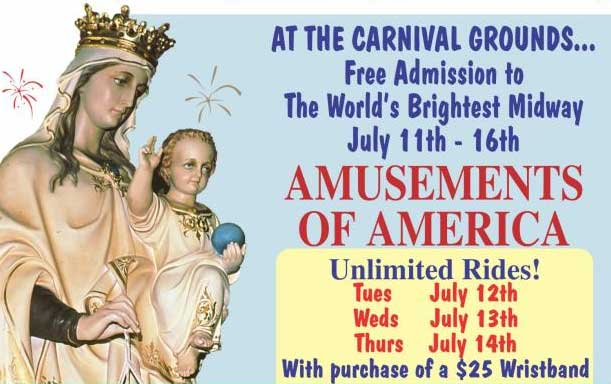 The 141st Feast of Our Lady of Mt  Carmel - NJ Italian Heritage